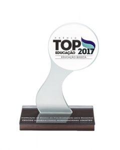 Prêmio Top Educação 2017 - Instituição de Ensino de Pós-Graduação para Docentes